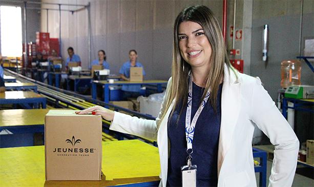 Wandy, gerente de Operações e Transportes da Jeunesse