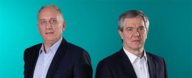 Ricardo Alouche e Leonardo Soloaga