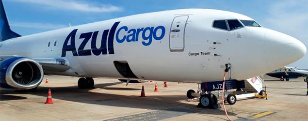 Azul Cargo expande serviço e passa a atender o mercado chinês