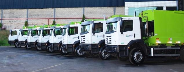 Volkswagen vende 12 caminhões para a Localix destinados à coleta de resíduos