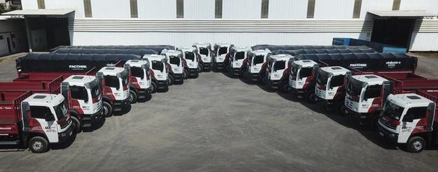 Açotel investe no reforço da frota e adquire 14 caminhões Volkswagen