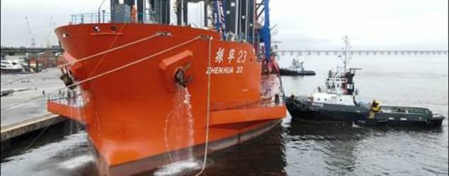 Wilson Sons movimenta portainer Super Post Panamax adquirido pela MultiRio