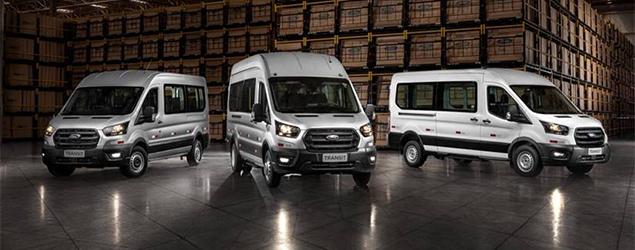 Ford lança divisão de veículos comerciais no Brasil